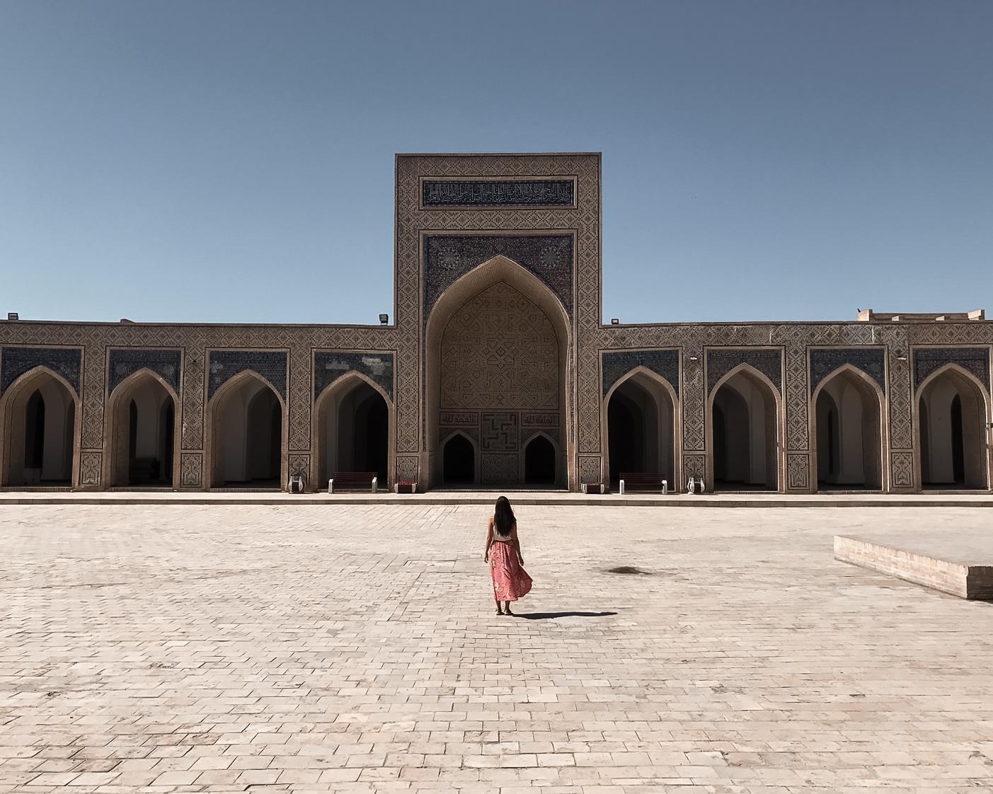 Rachel in Uzbekistan