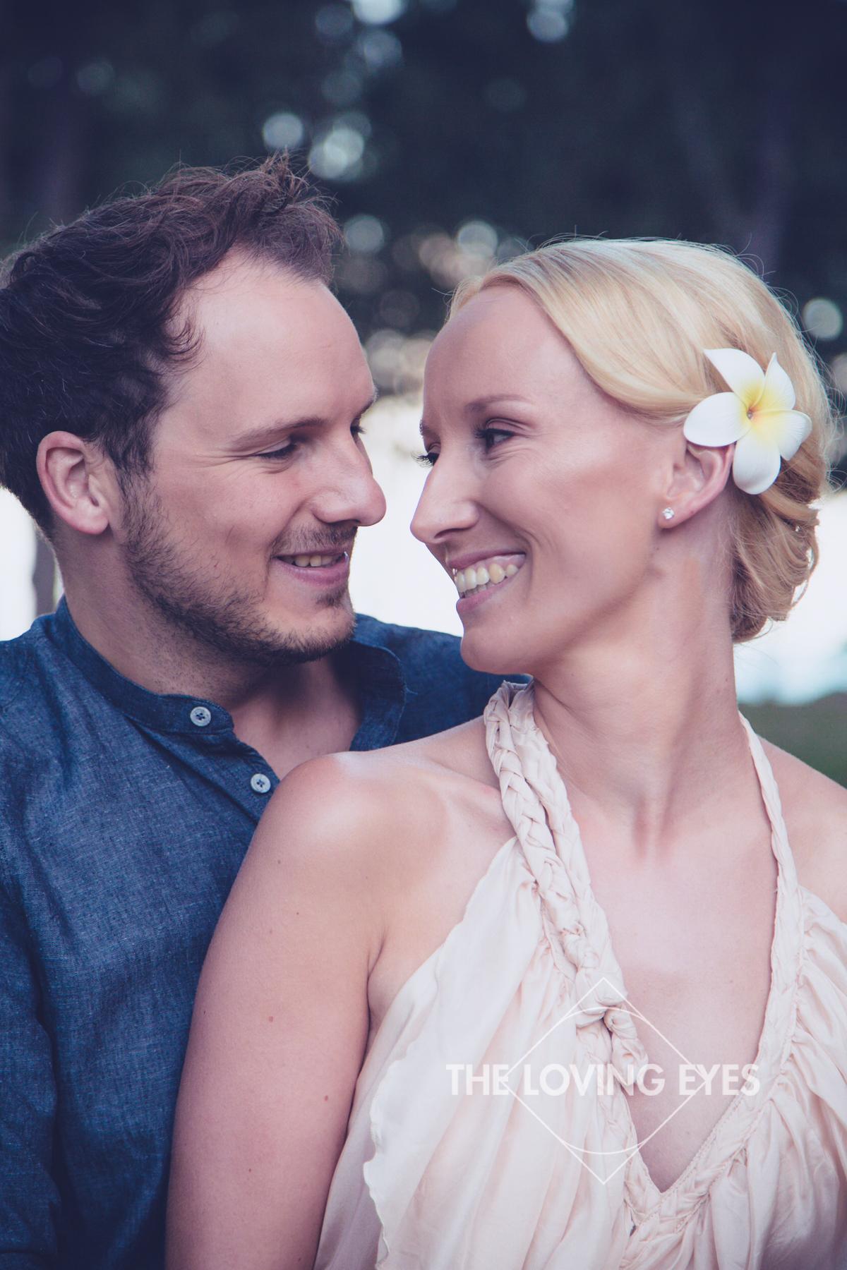 Romantic beach elopement in Hawaii
