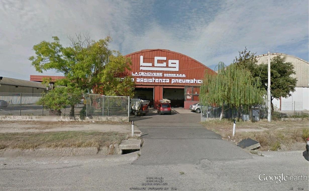 LGg La Genovese gomme gommista Oristano