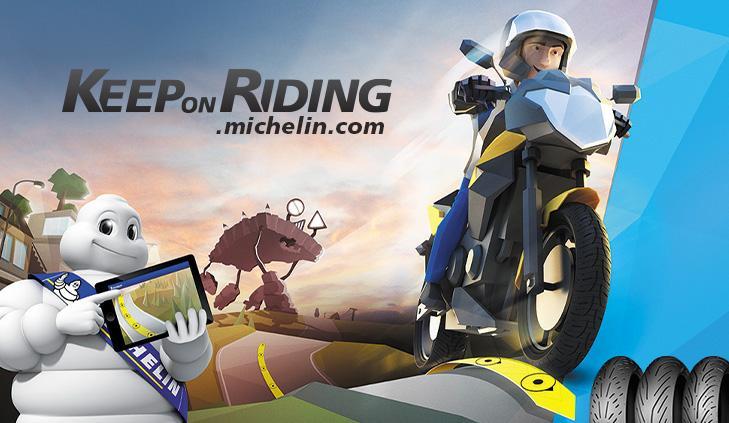 Bibendum keep on riding