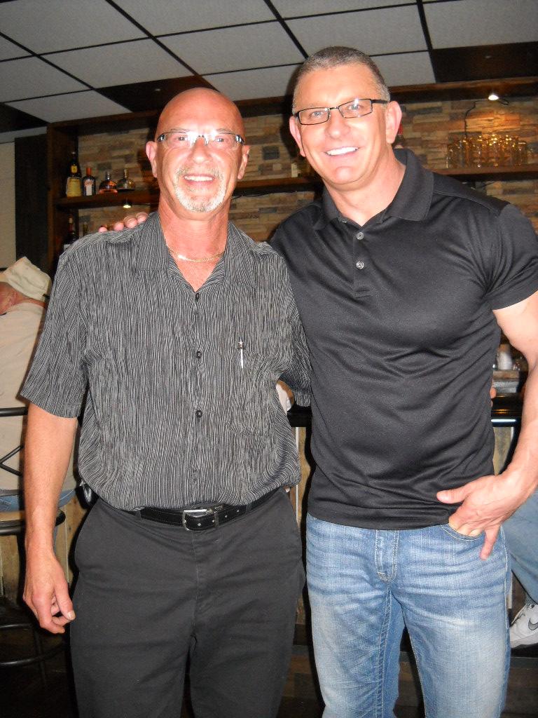 Dennis Souva, Chicken Bandit partner with Chef Robert Irvine