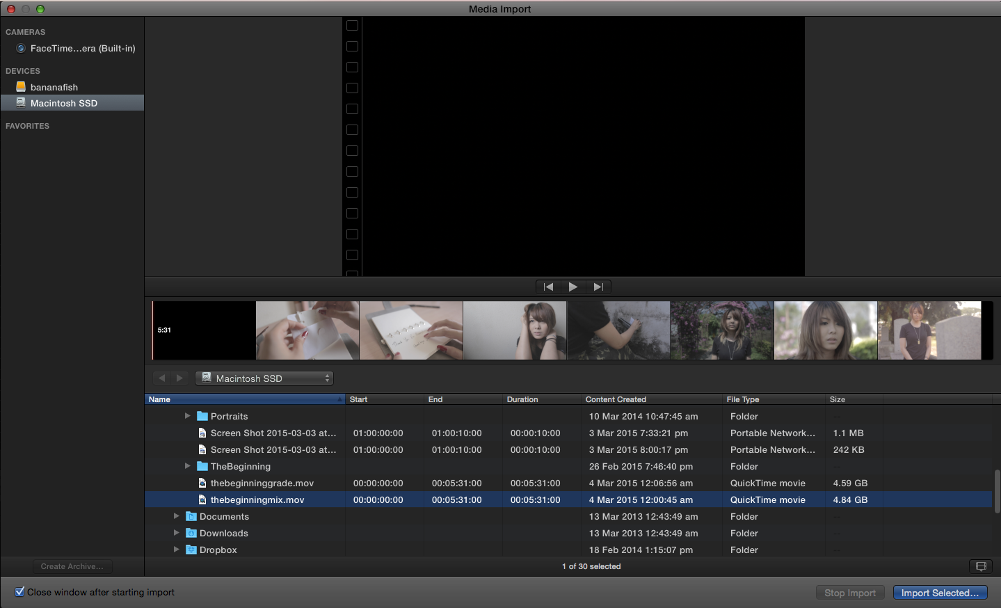 Going back and forth in FCPX and AE part 1