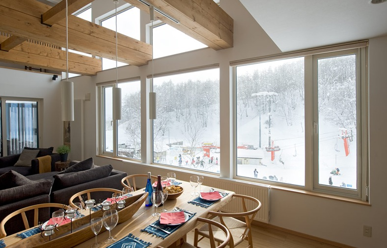 skiing snowboard yoga retreat flowstate niseko