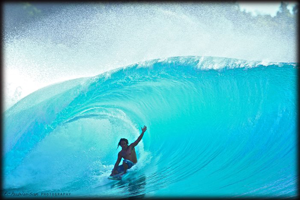 Here is Paulo from  Telos Surfing Village  - he knows how to go with the flow.  check out our Maldives trip in September.