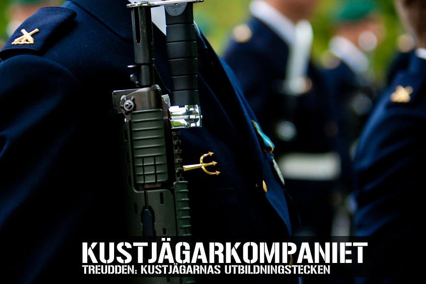 TREUDDEN: KUSTJÄGARNAS UTBILDNINGSTECKEN
