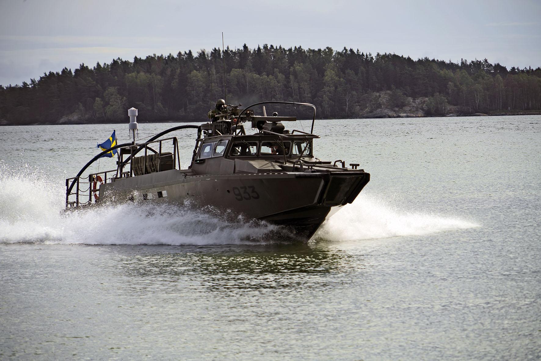 Hela stridsbåtssystemet behöver förnyas med början inom en tio- till femtonårsperiod.  Foto: Olle Neckman.