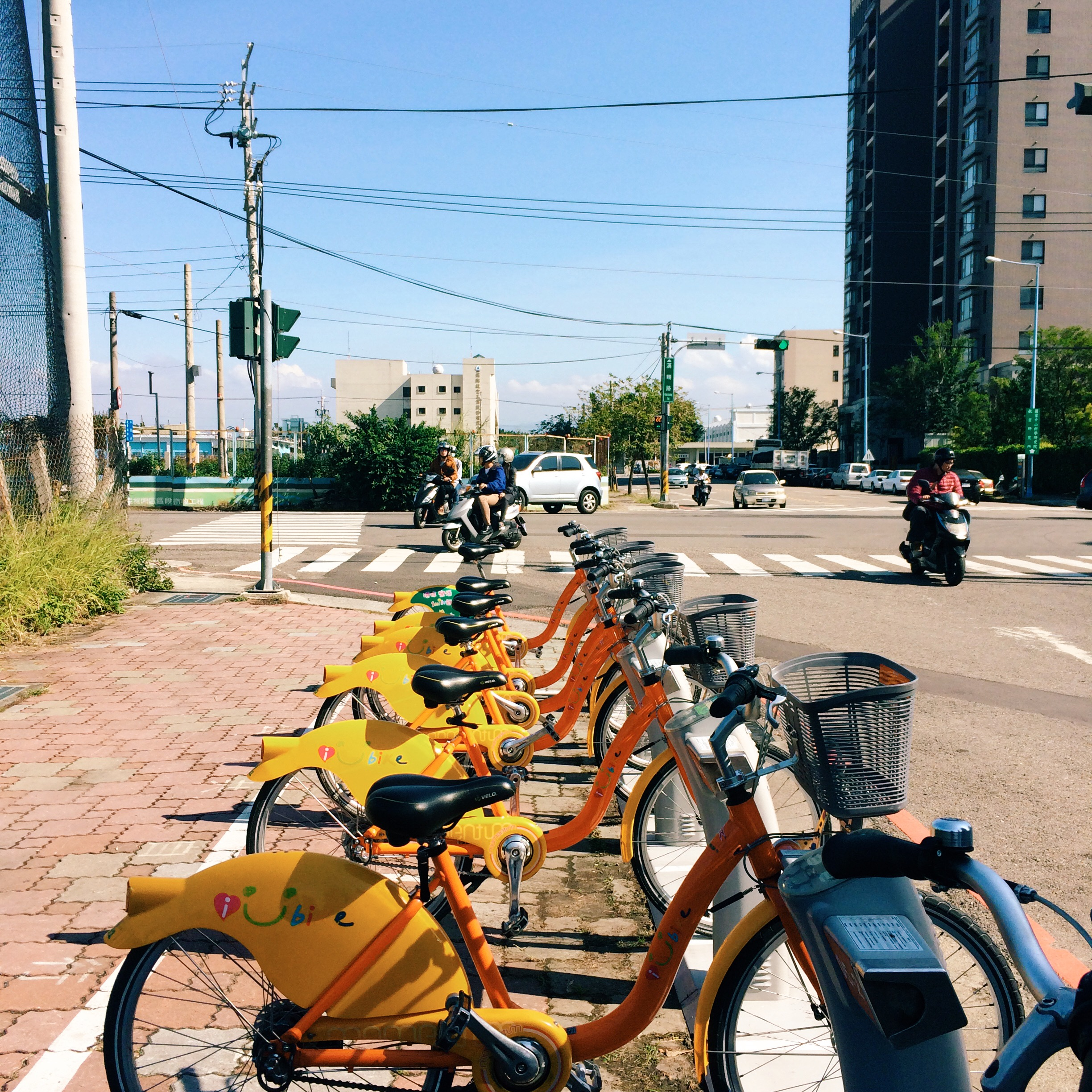 iBike in Taichung city