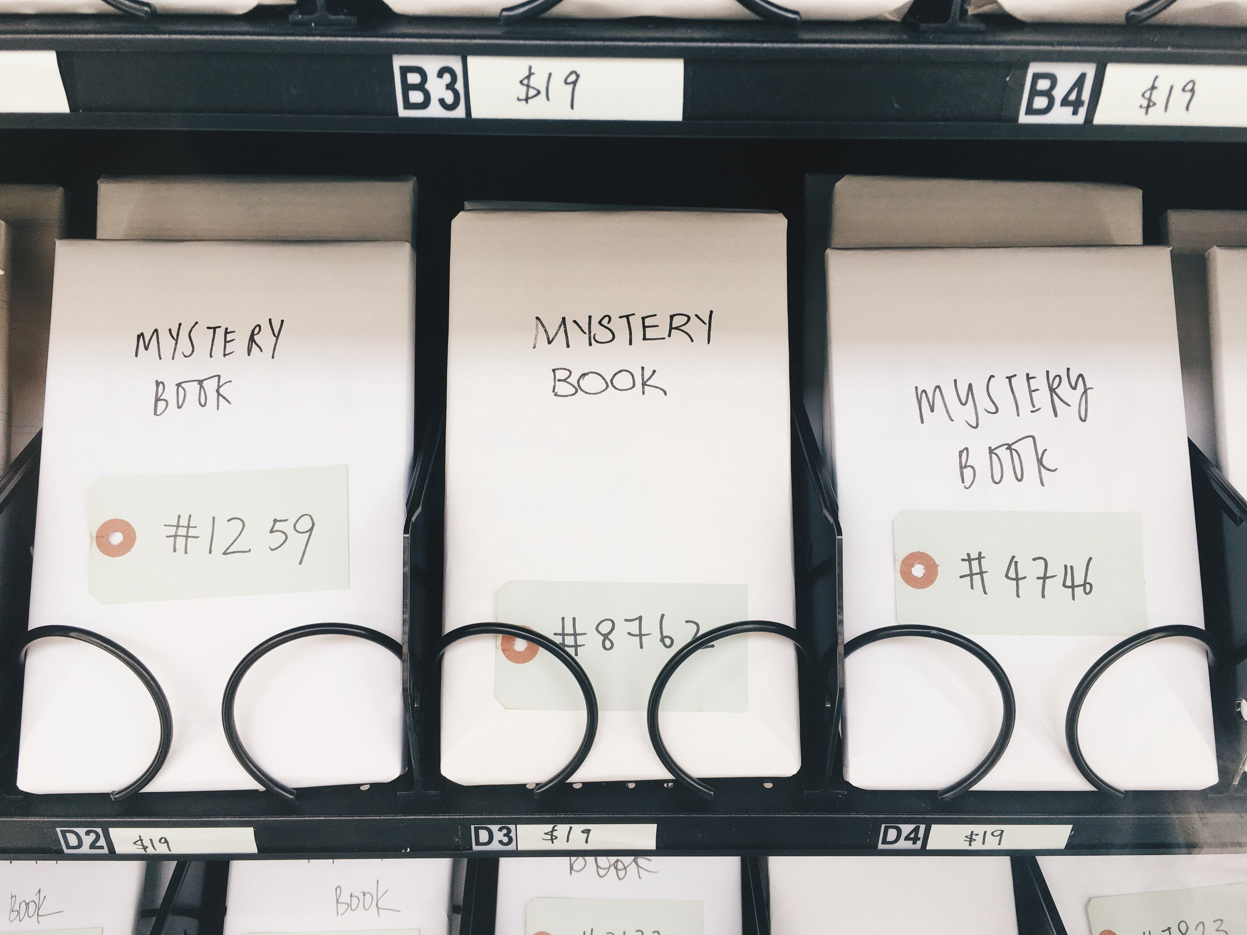 Mystery books sold by BooksActually