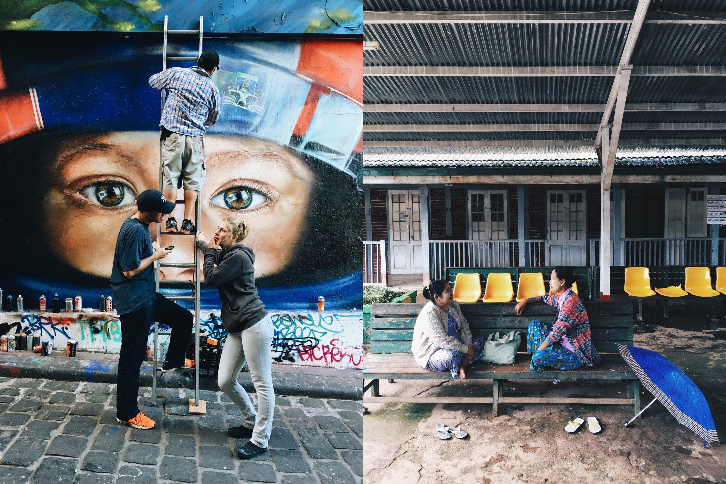 Conversation (Melbourne, Australia; and Kalaw, Myanmar)
