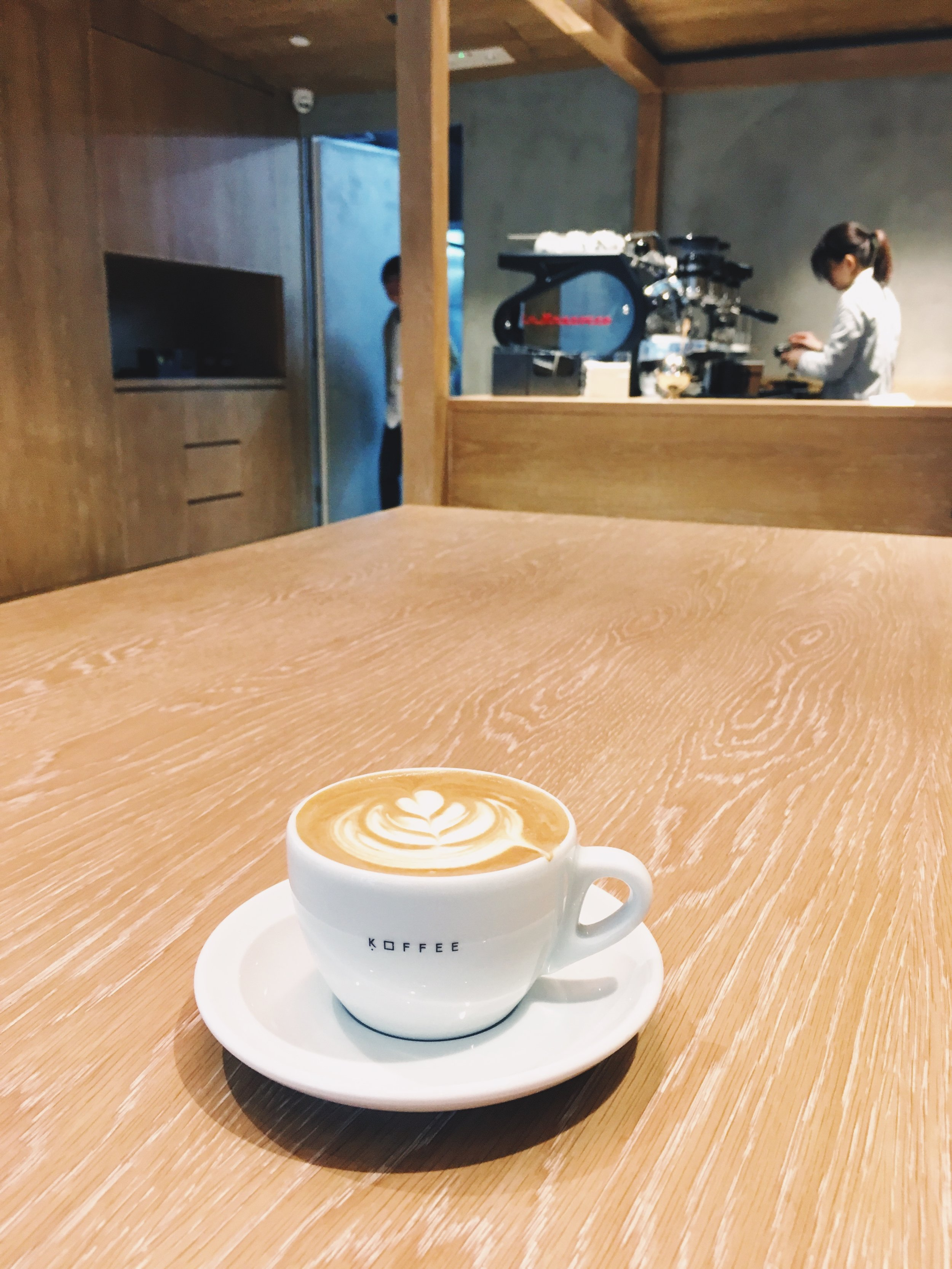 Omotesando Koffee, Hong Kong 2017.