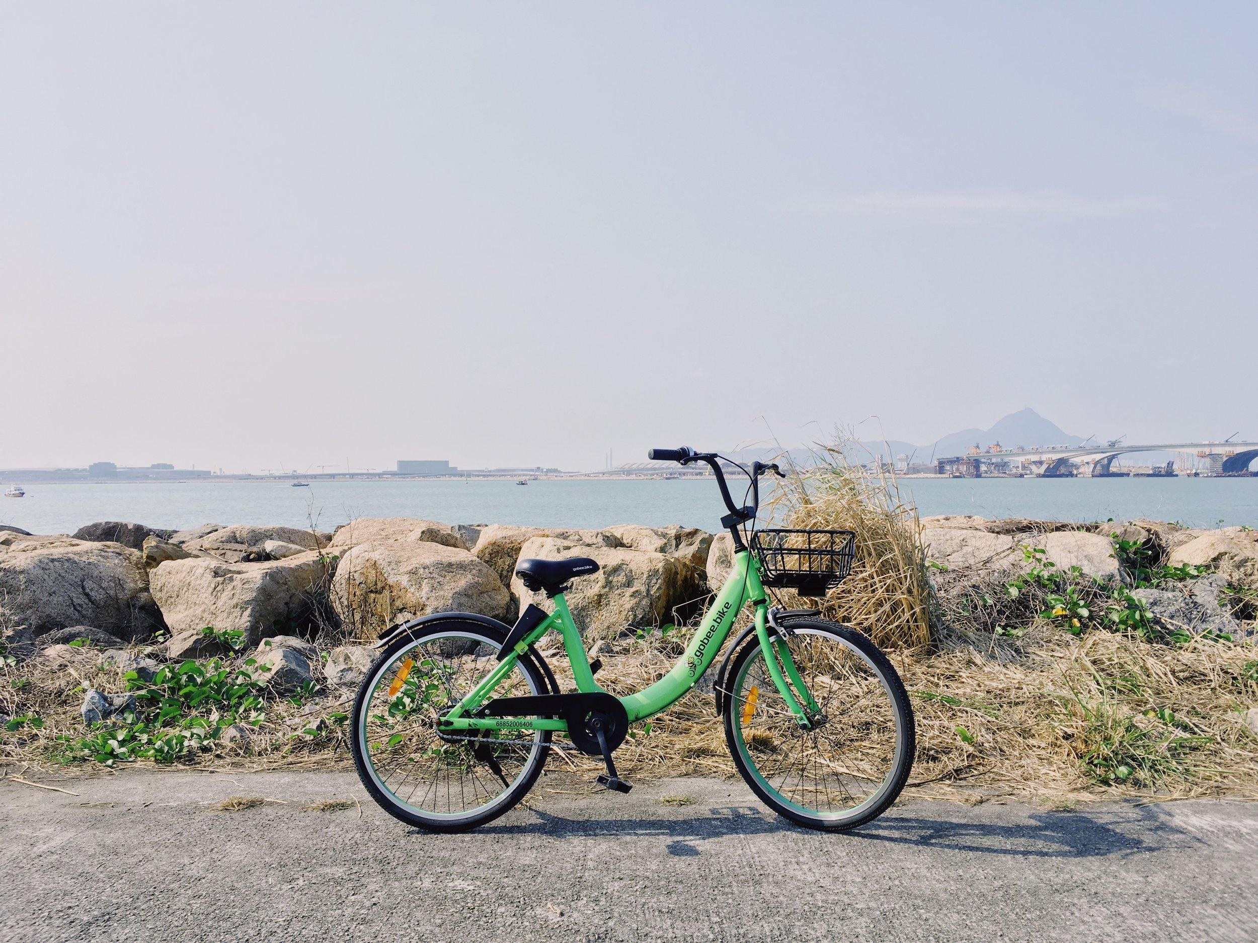 香港Gobee Bike