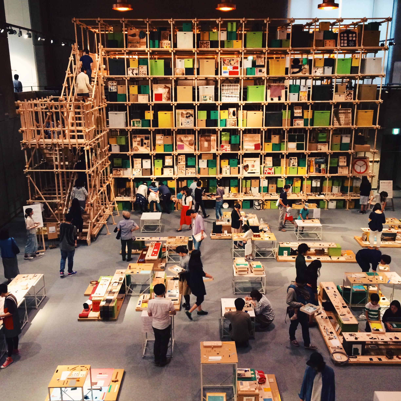 2015東京都美術館所舉辦的挪威Kubbe Lager Museum展覽。