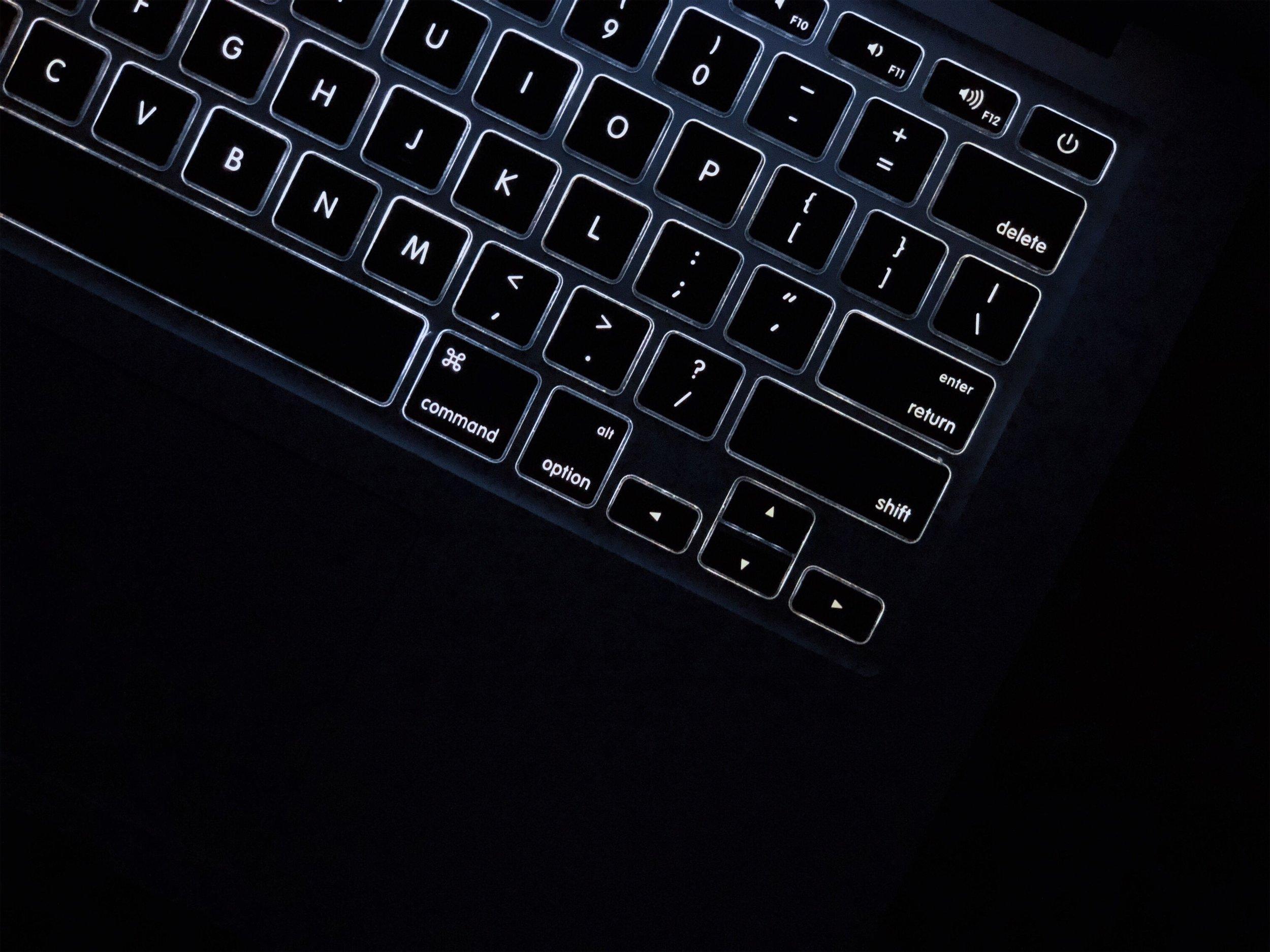 我的MacBook Air鍵盤