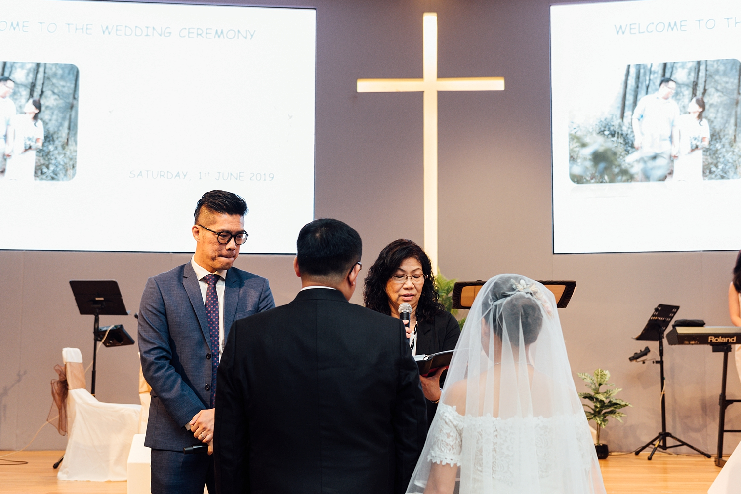 Church Wedding Singapore at Grace Assembly of God Church
