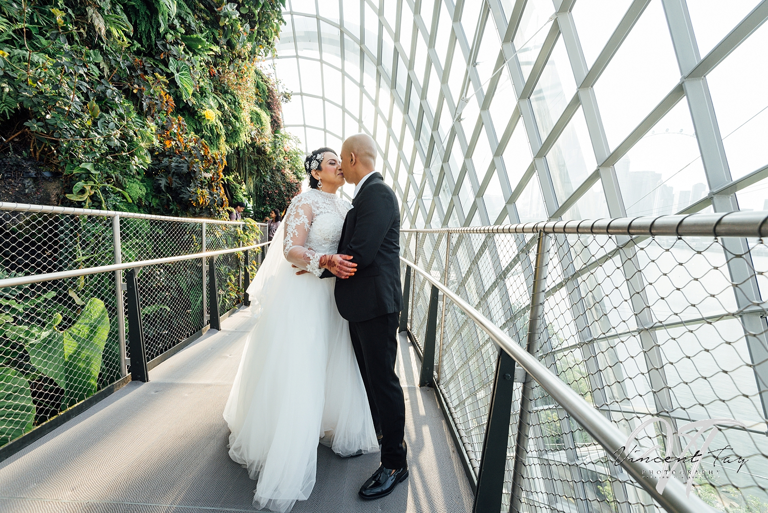 Gardens by the Bay Wedding at CloudForest