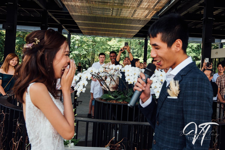 Hort Park Vineyard Wedding