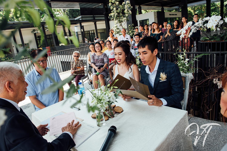 Hort Park Wedding