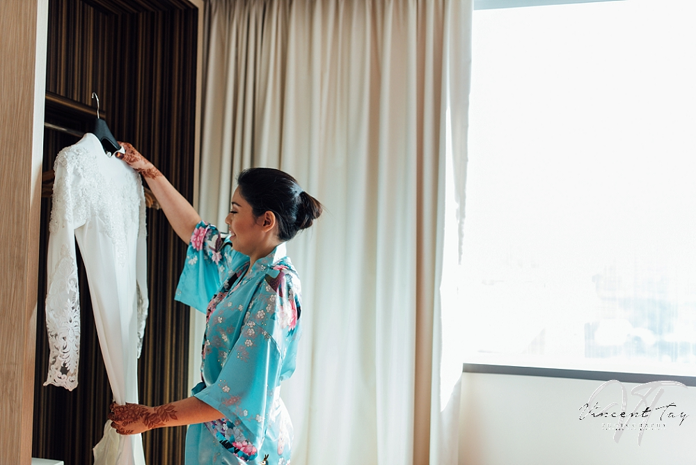Malay Wedding preparation at Genting Hotel