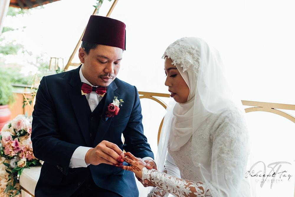 Malay Wedding at Civil Service Club Bukit Batok