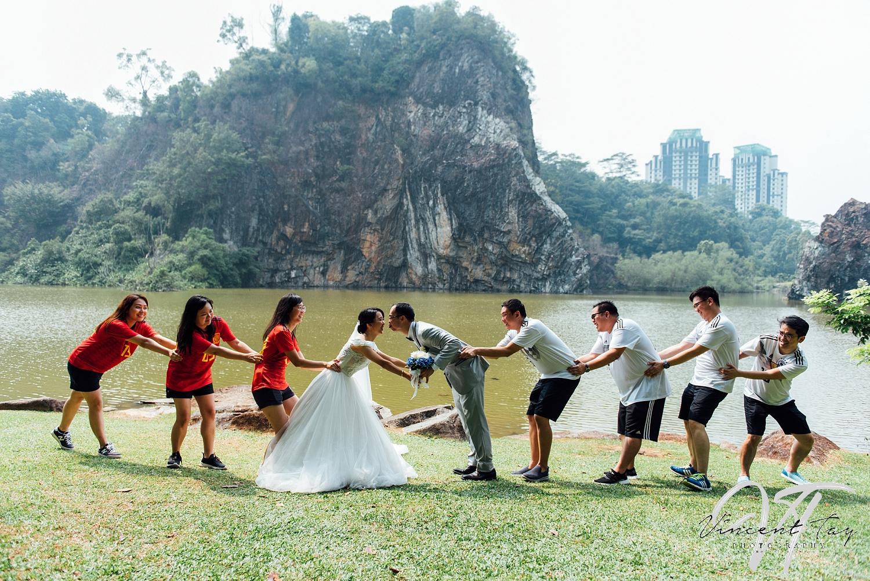 wedding outdoor shoot at xiao gui ling