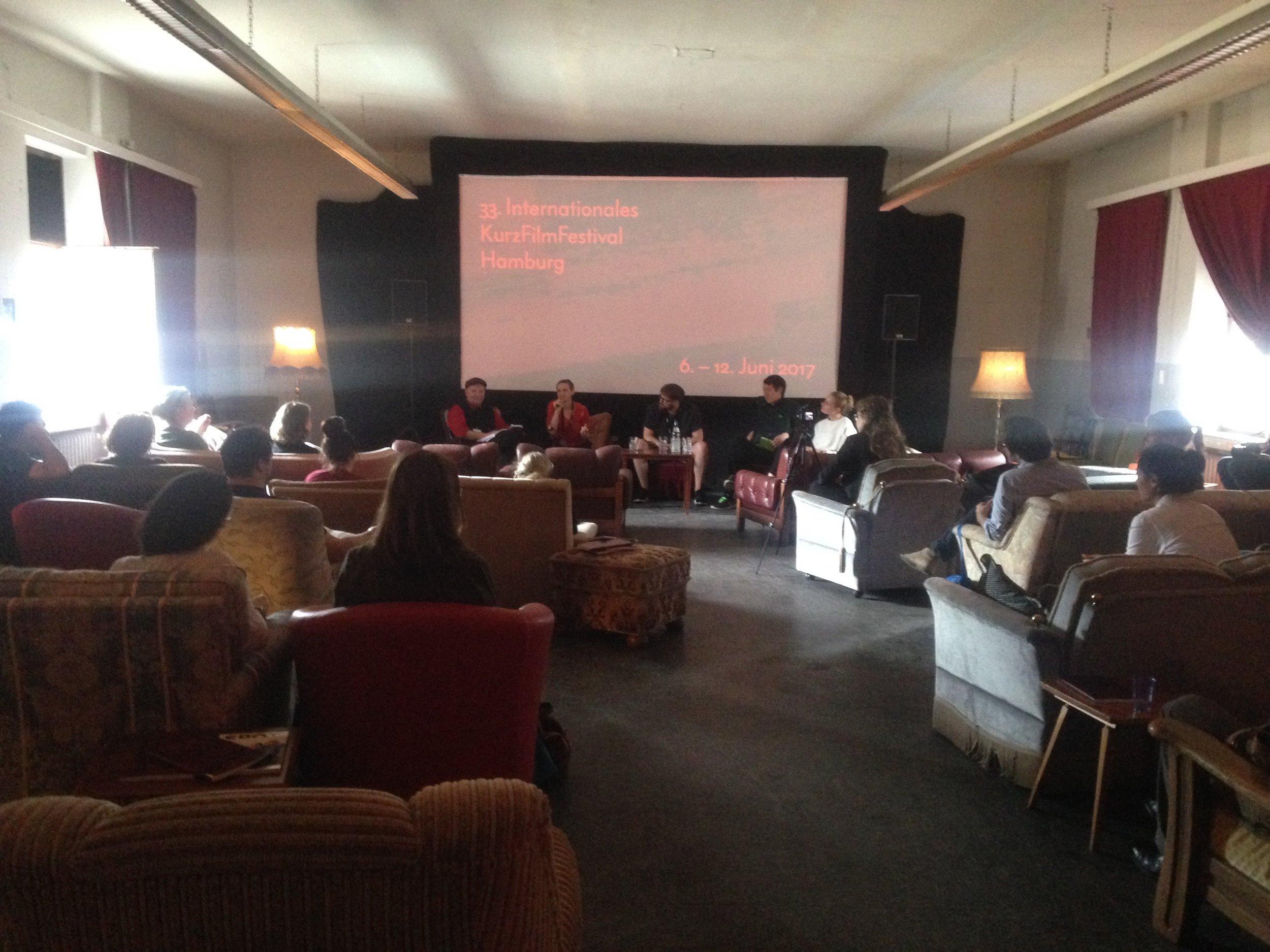 Круглий стіл в рамках кінофестивалю у Гамбурзі