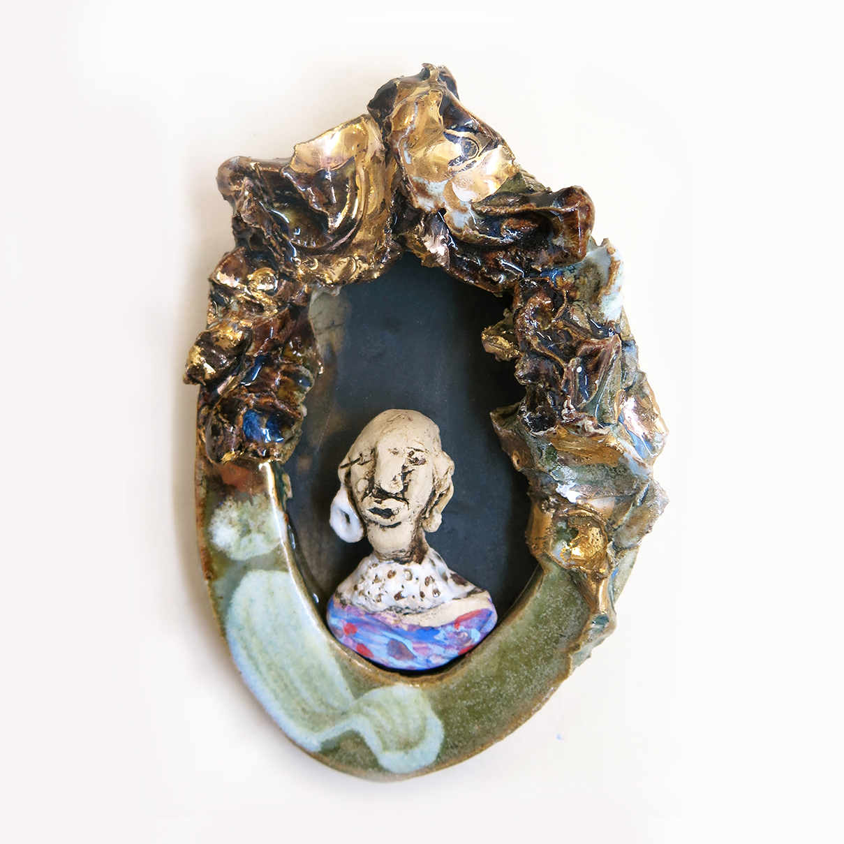 A Celebration of Cultural Adornment miniature cameo Noorimati
