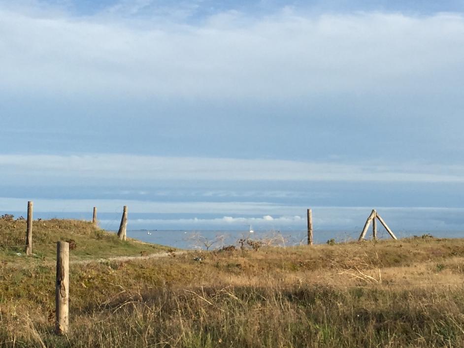Bretonische Impressionen: Strand zwischen Penmarc'h und Guilvinec