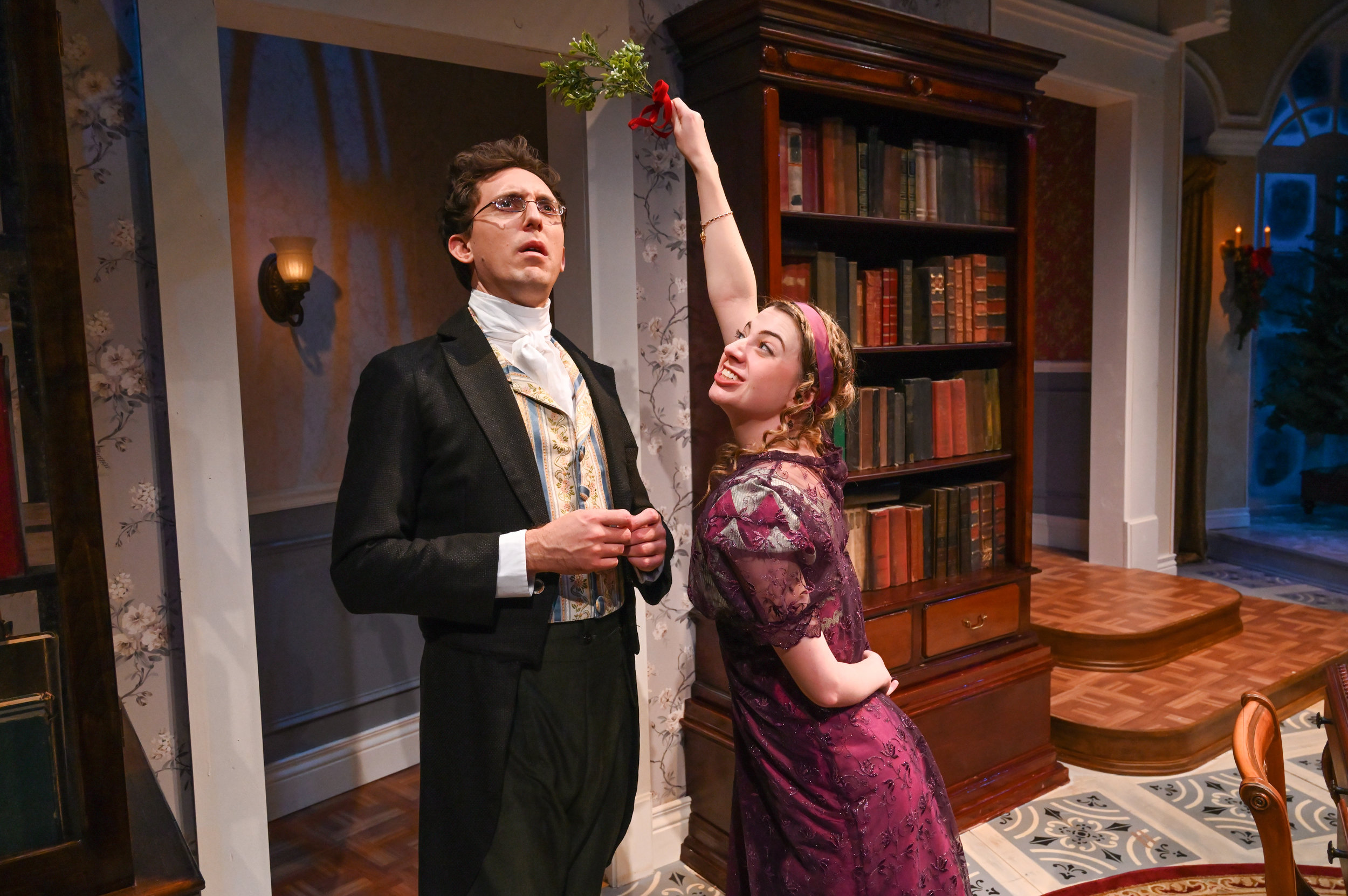 Miss Bennet:  Christmas at Pemberley - American Stage - Lydia Wickham