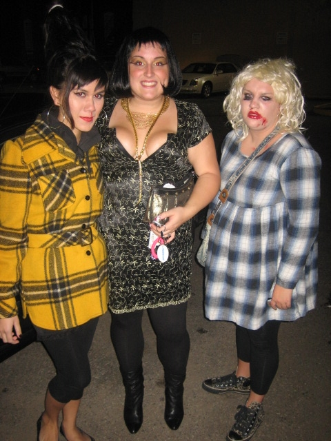 You probably can't tell that there is an a water bottle in my hair. I was supposed to be Amy Winehouse, still mourning the loss of that jacket. Cleopatra. Courtney Love. 2007.