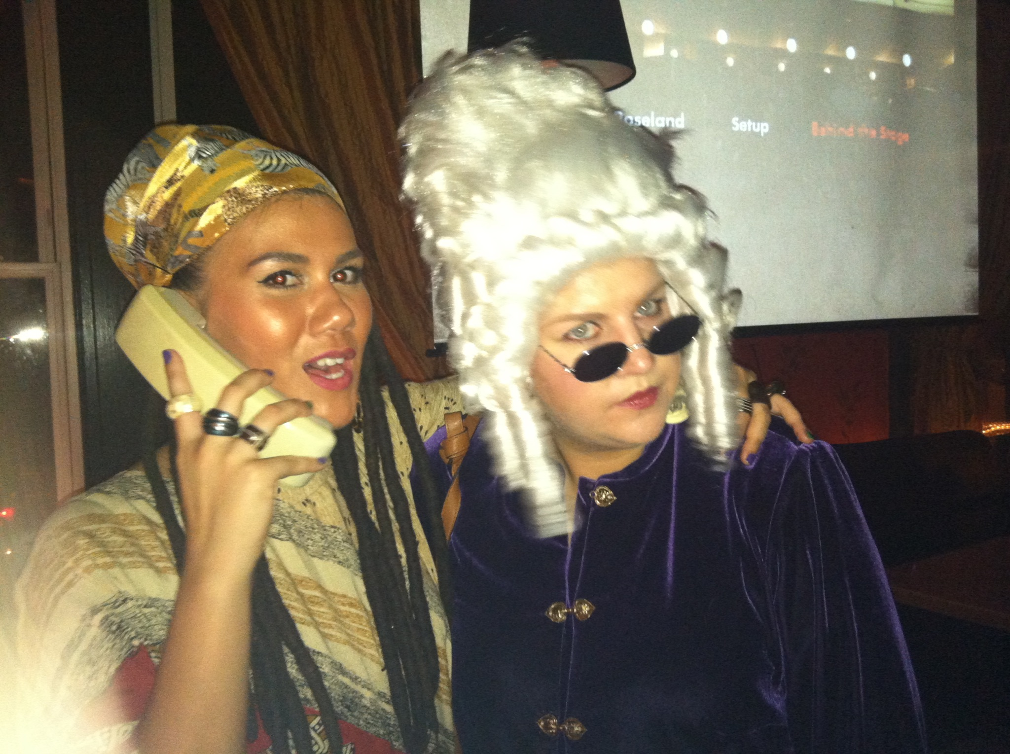 Sometimes you have to recycle a costume and that's OKAY. miss cleo. mozart. 2012.
