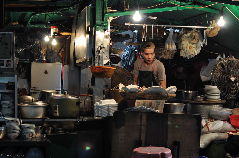 Food stall, Hong Kong.