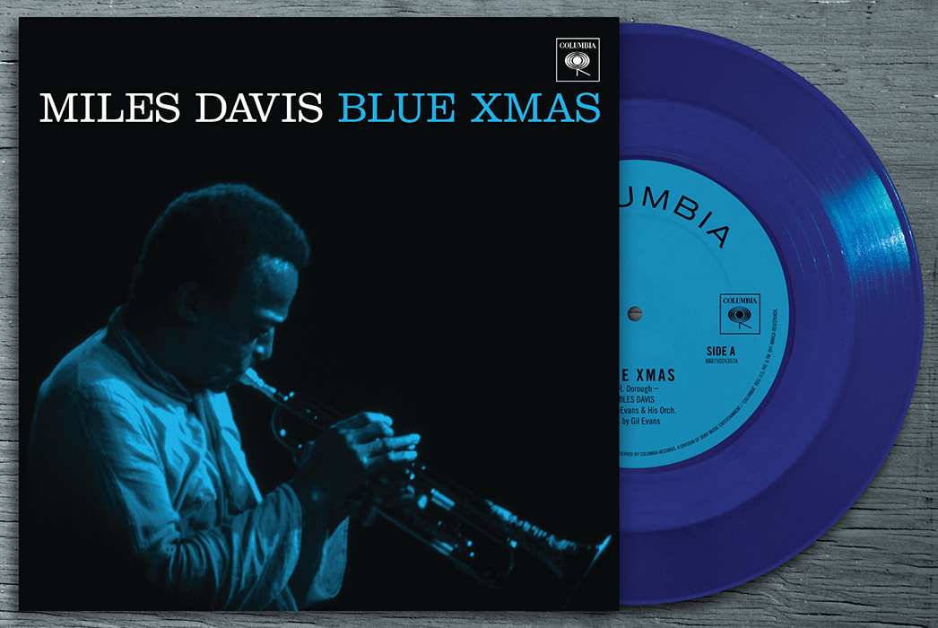 "Miles Davis, ""Blue Xmas"" 7 inch single was released for Black Friday, 2014--very fitting"