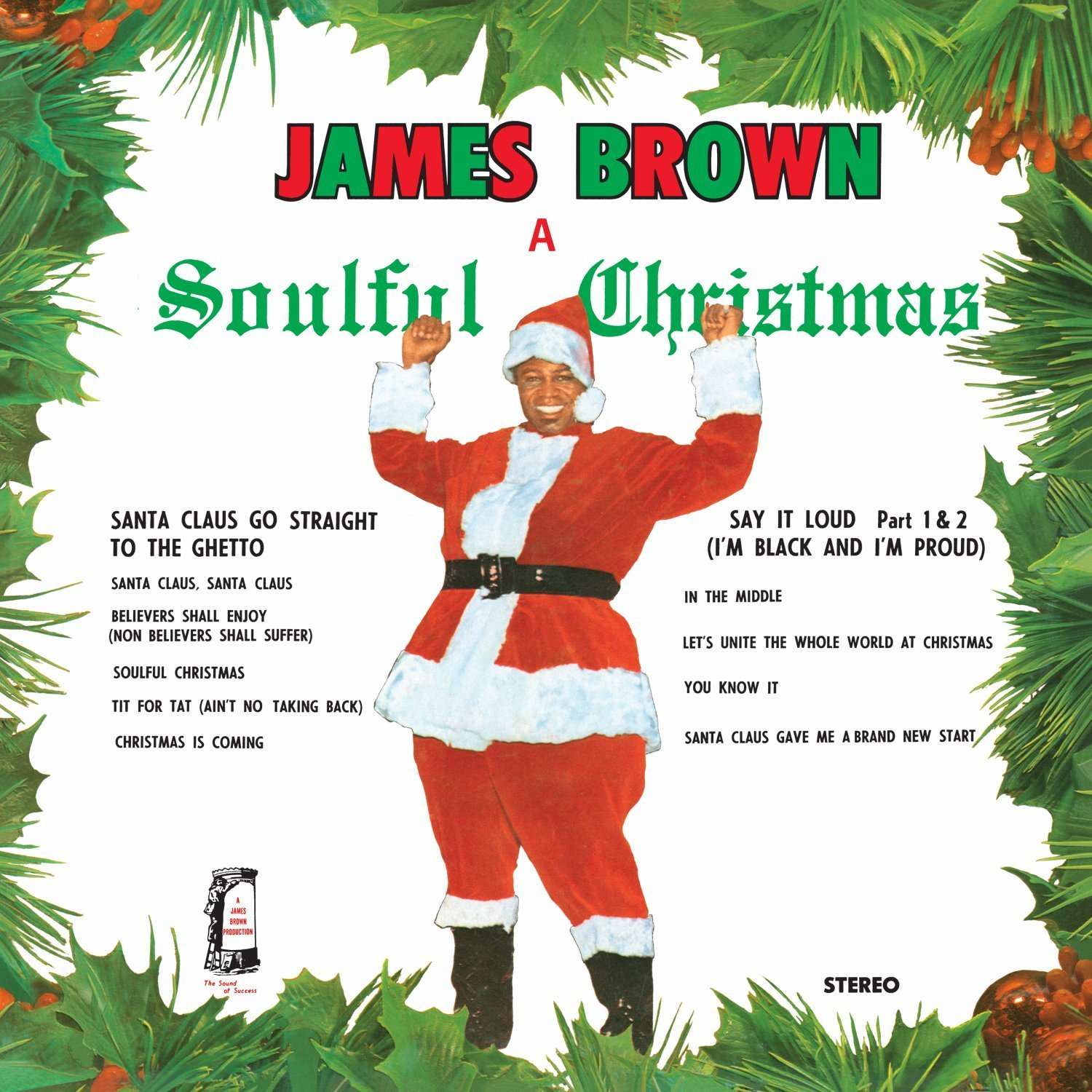 James Brown loves you...all good cheer:  Soulful Christmas and a Happy New Year. Good God.