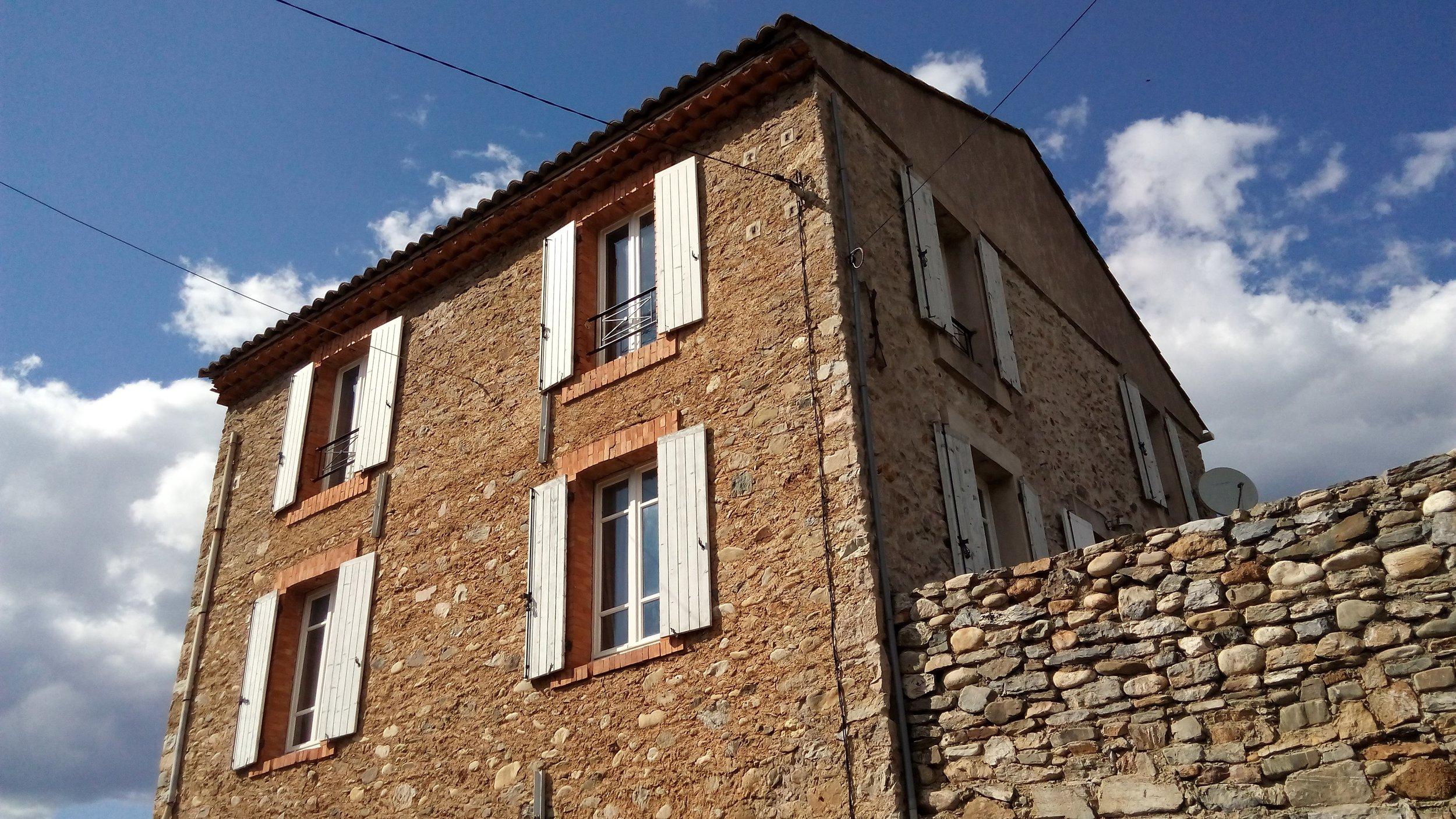 Street view of Le Haut Maison