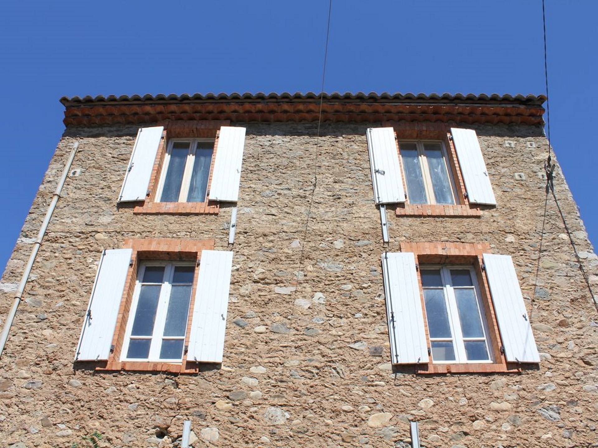 South facing façade