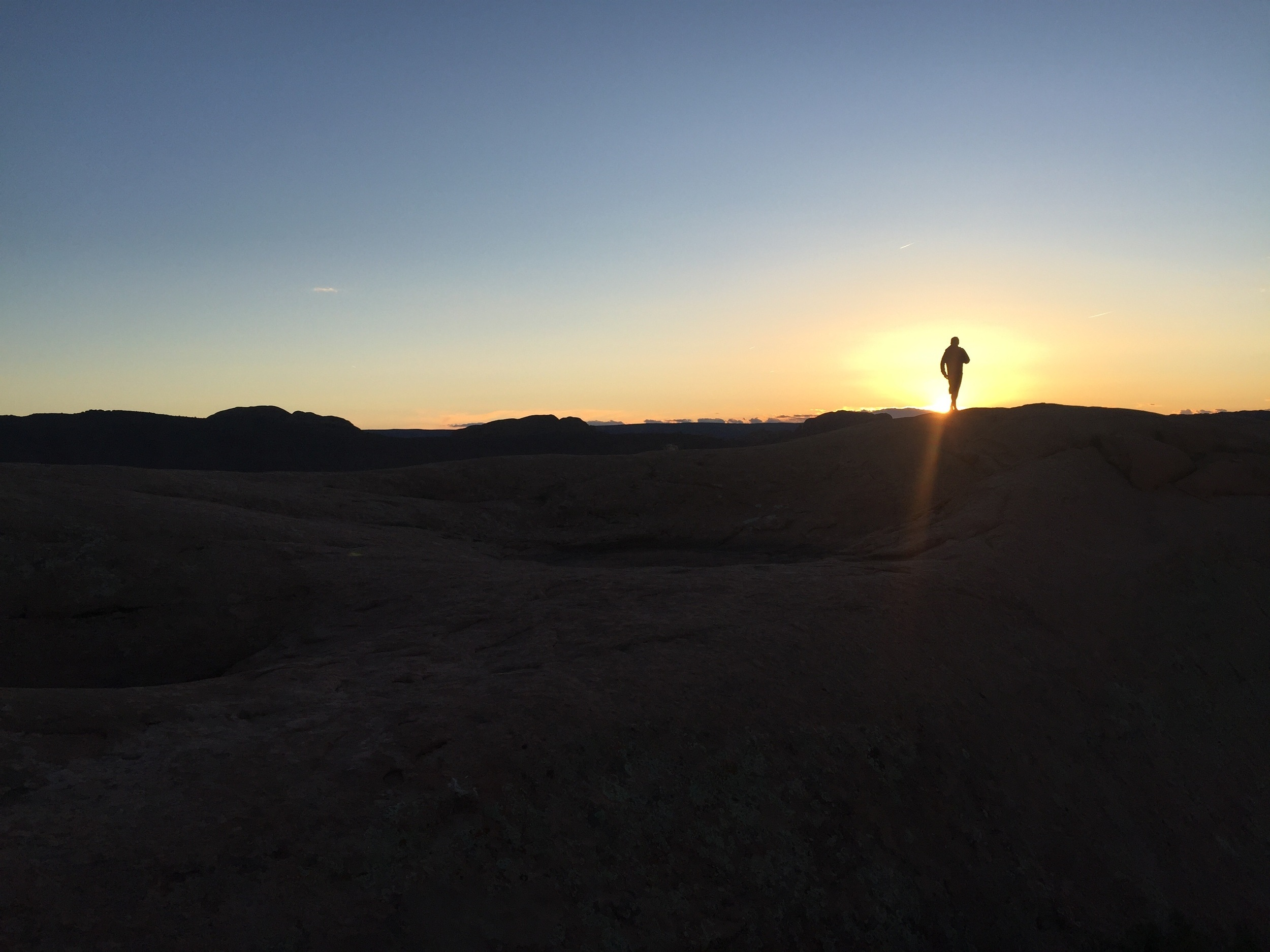 Last light, Sand Flats.