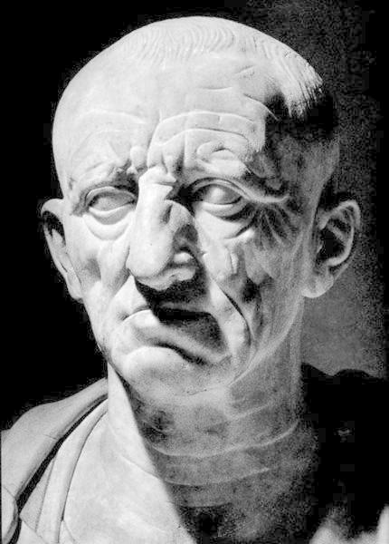 Cato the Elder, highly insecure arch-patriot