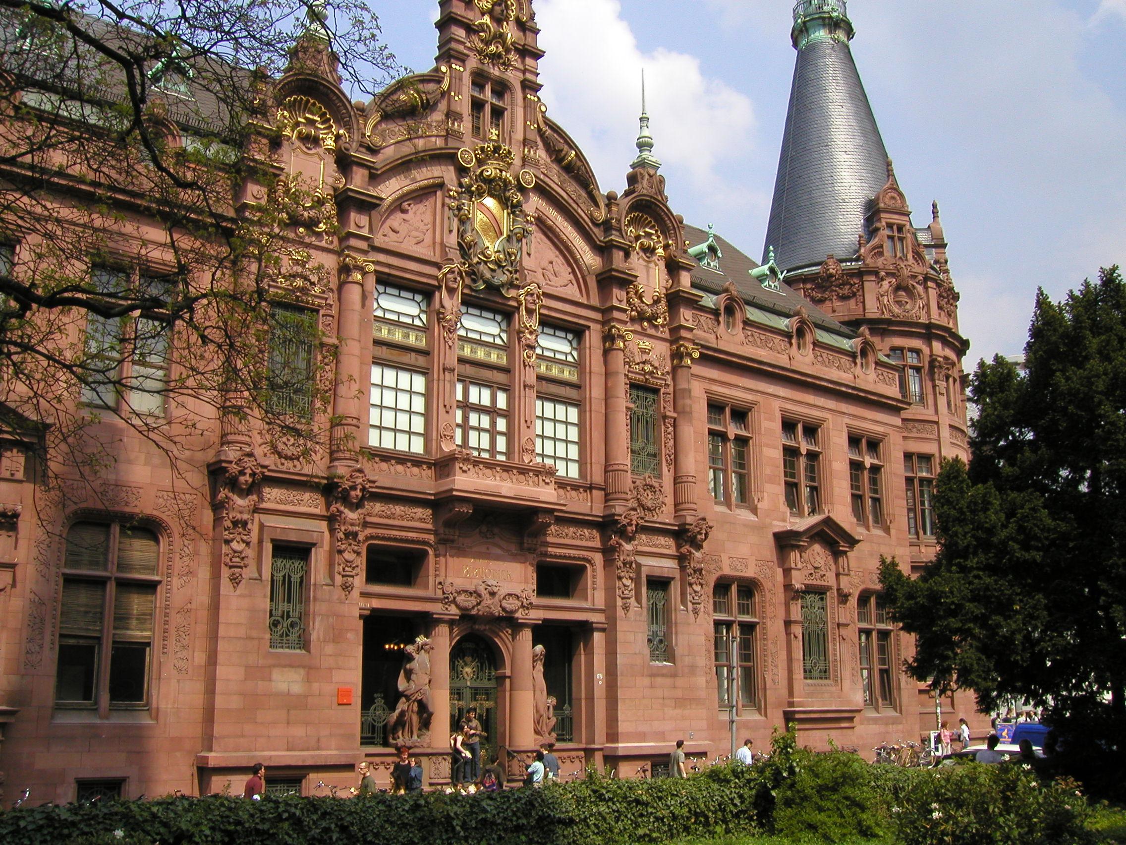 The main humanities library at Heidelberg, my alma mater