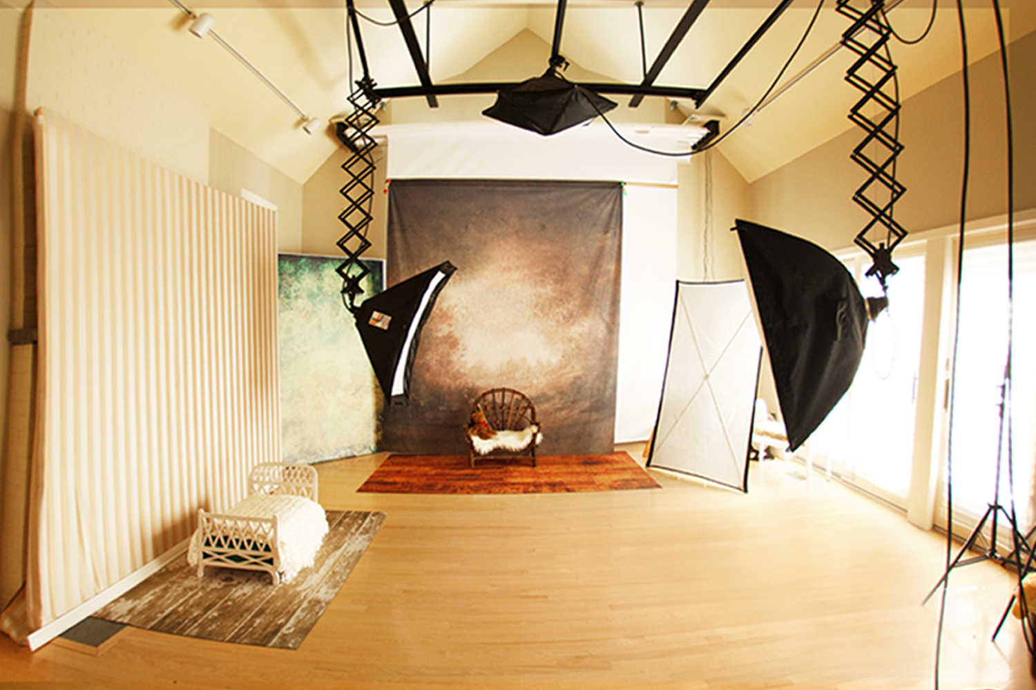 Indoor studio