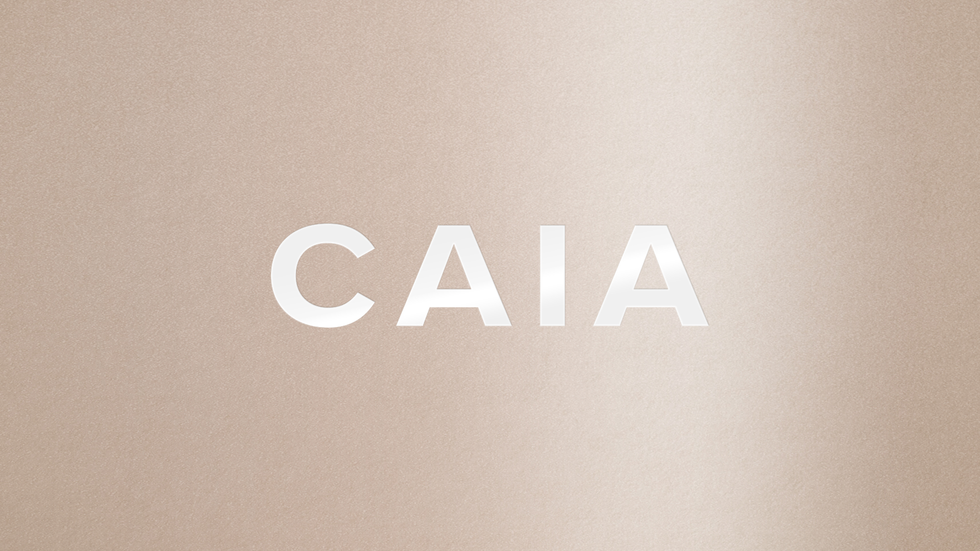 Logotype for Caia Cosmetics - Design by GLHF Design Studio