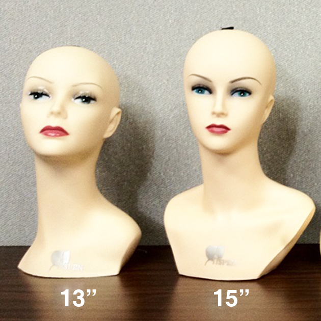 "HeadMannequin13""/15"""