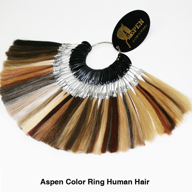 Color Ring – Aspen 100% Human Hair