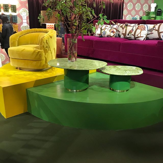 A riot of colour to lift the spirits at #maisonetobjet yesterday, a great day of inspiration #interiordesign #homedesign #colour
