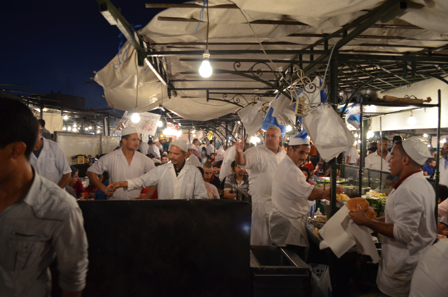 How many chefs? They are great fun.