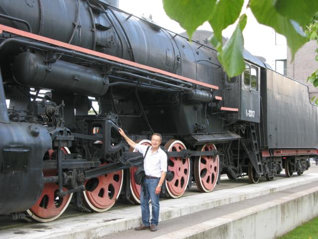 Big Train, little man
