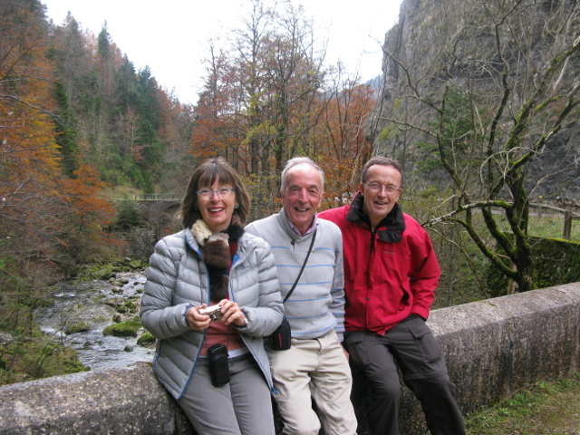 Anne, Christopher & David