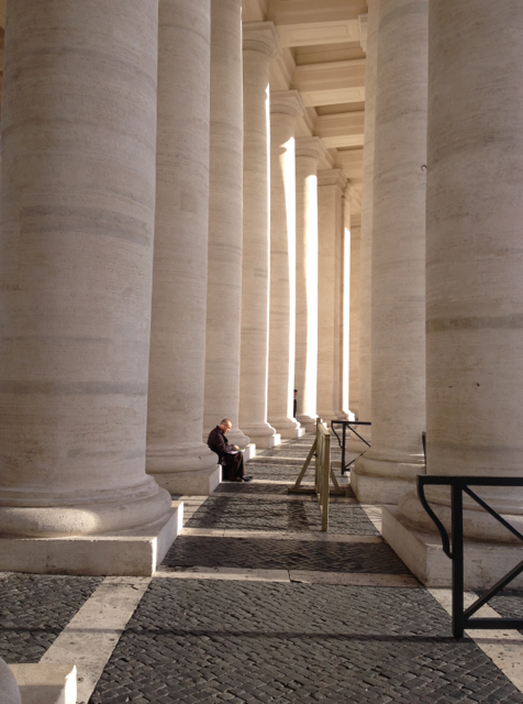 Time out - St Peters Square