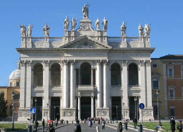 San Giovanni - the most ancient church in the world.