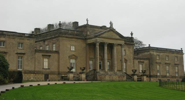Stourhead - the house
