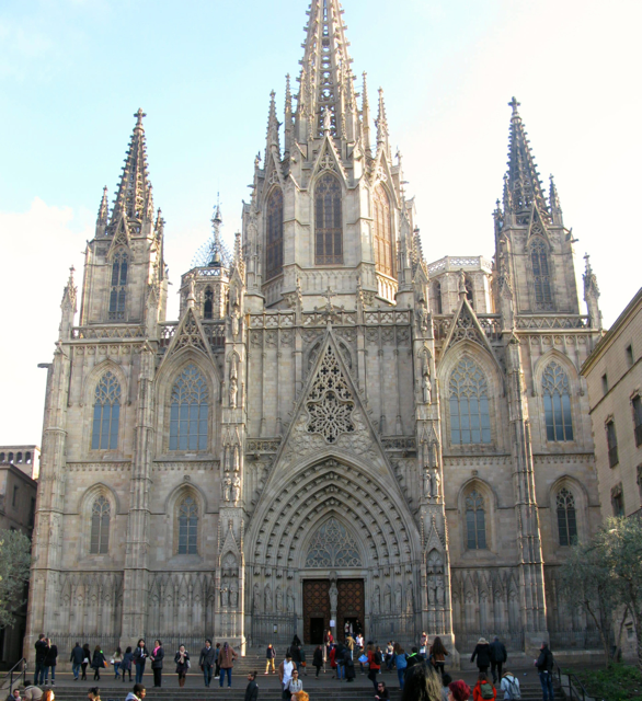 Barcelona Cathedral in the Gothic Quarter